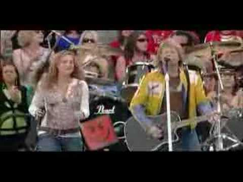 Bon Jovi & Sugarland - Who says you can't go home (live)