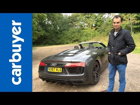 Audi R8 Spyder review - the best drop-top supercar? - James Batchelor - Carbuyer