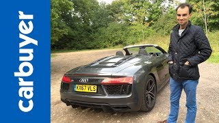 Audi R8 Spyder review - Is this the world