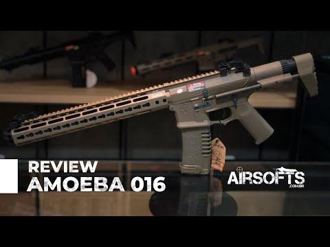 Review ARES AMOEBA 016 | Conheça a Airsoft que esta entre as Top 10 do mundo