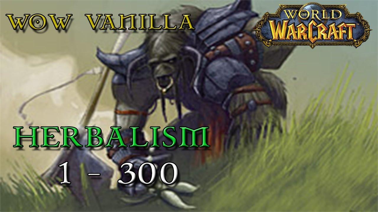 WoW Vanilla - Ultimate Herbalism Guide