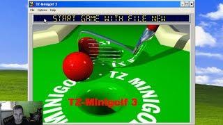 Me Playing TZ Mini Golf for Windows