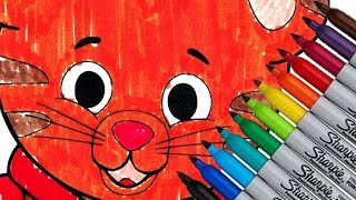 Daniel Tiger Coloring Page For Kids New 2016 HD Video