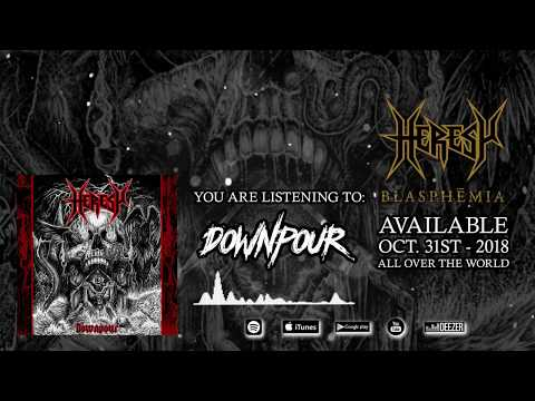 HERESY - Downpour (OFFICIAL TRACK) Mp3