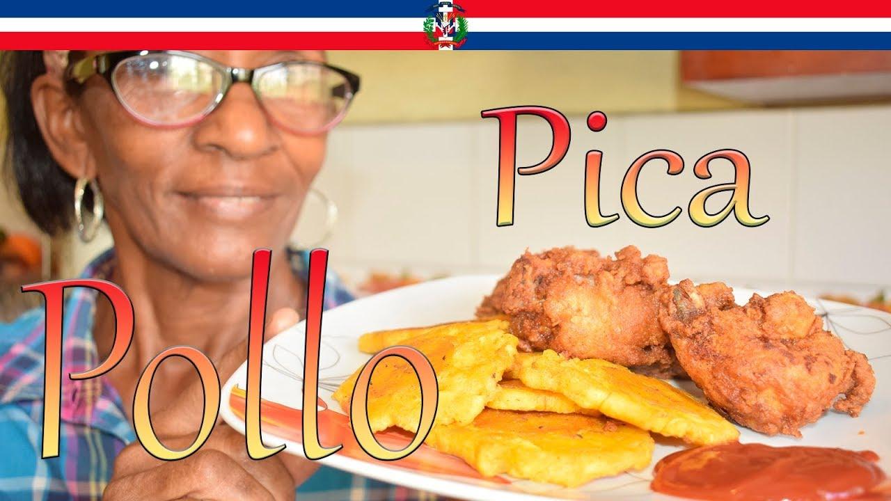 Receta Pica Pollo Dominicano - Cocinando con Yolanda