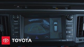 2016 Toyota RAV4 Hybrid Offers Bird's Eye View Camera | Toyota