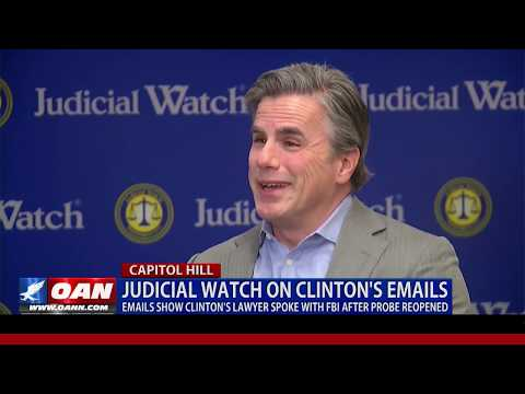 Judicial Watch on Hillary Clinton's emails