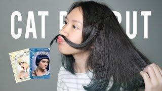 [TUTORIAL] Cara Mewarnai Rambut Sendiri - Blue Miranda (How to dye your hair)