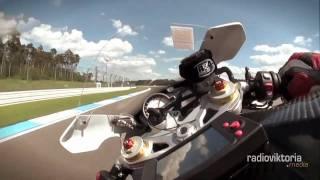 Gyro-Onboard-Cam Hockenheimring auf BMW S 1000 RR