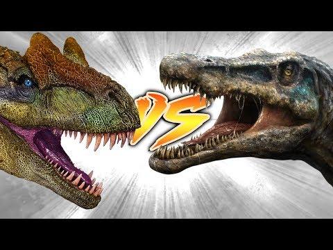 ALLOSAURUS VS BARYONYX [Who Would Win?]