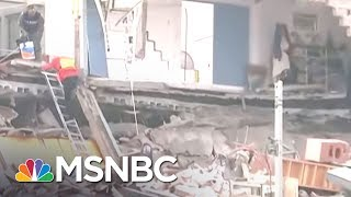 Search Continues For Dozens Of Missing School Children After Quake | MSNBC