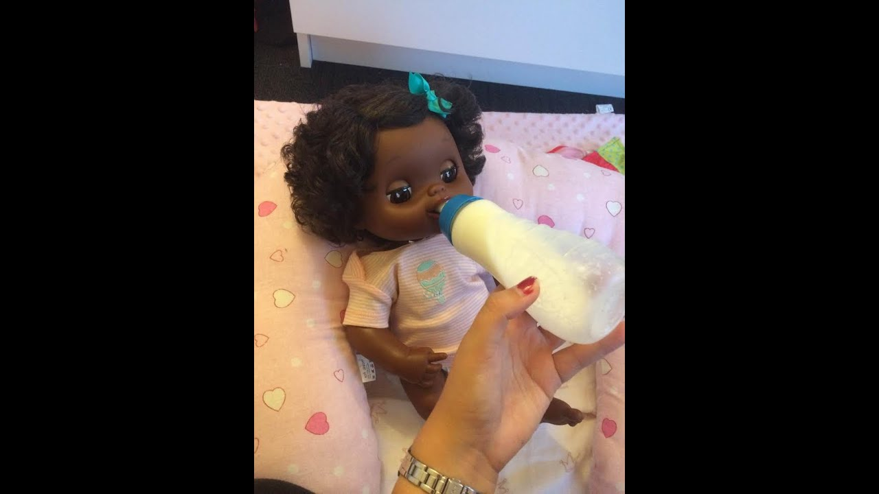 Baby Alive Getting Josie Ready For Bed Youtube