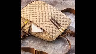 AXE 여성 가죽 백팩 학생 캐주얼 노트북 가방 EL6…