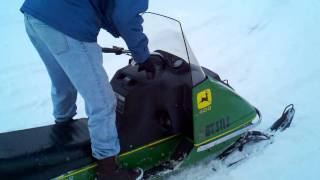 1974 John Deere Snowmobile
