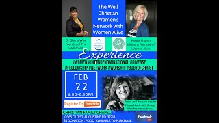 Clip of The Well CWN and Women Alive Feb 2021