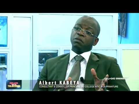 Regard sur les Telecoms avec Albert Kabeya