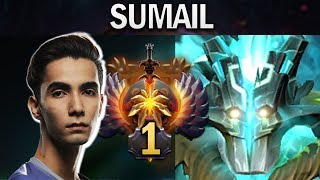 THIS IS HOW RANK 1 MMR PLAYS JUGGERNAUT - SUMAIL - DOTA 2 7.23F GAMEPLAY