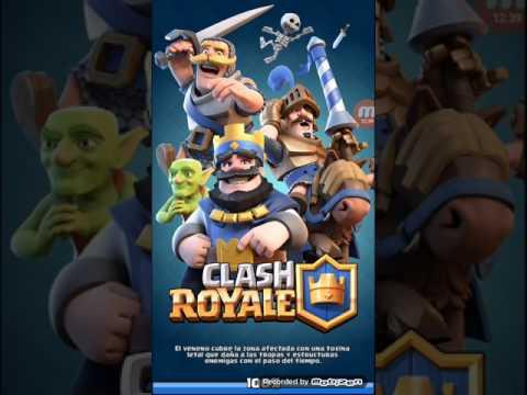 Media hora de      Clash royale!!!!