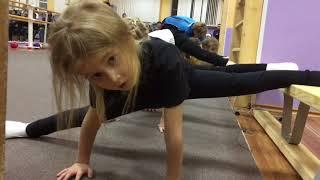 Открытый урок секции художественной гимнастики