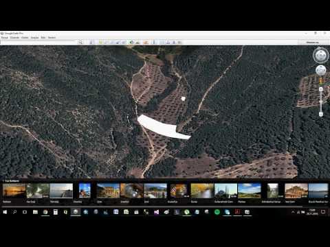 Parsel Biligisini Google Earth Üzerinden Gösterme