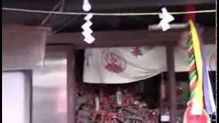 穴守稲荷神社  パワースポット Japan shrine video