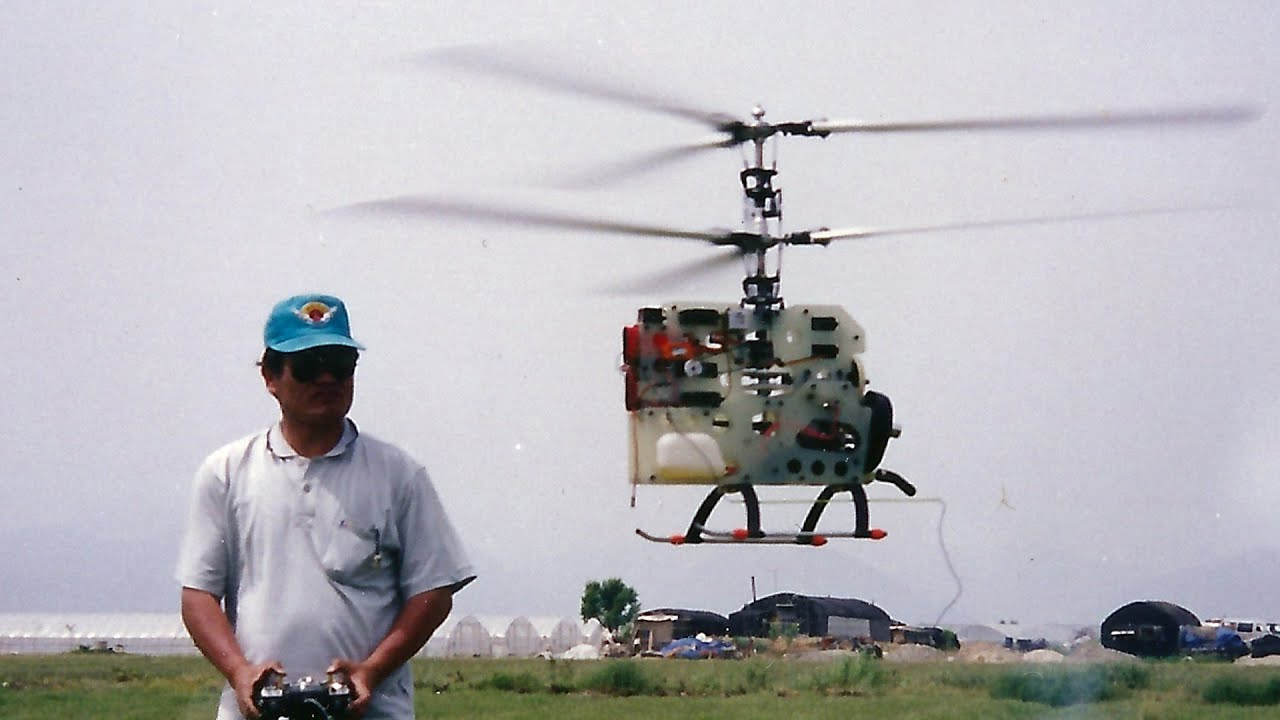 Homemade RC Coaxial Helicopter (자작 동축반전 헬기)