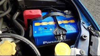 愛車のバッテリーを交換してみた Panasonic caos C5 N-100D23L インプレッサ