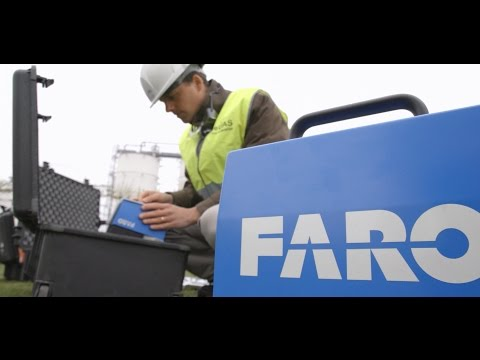 FARO Focus3D X 130 Laserscanning Anwendungsvideo Think 3D Drohne Stormbee