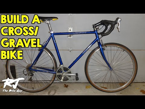 Build Cheap DIY Cyclocross/Gravel Bike From Hybrid