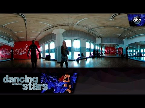 Calvin and Lindsay Rehearse in 360 - Dancing With the Stars