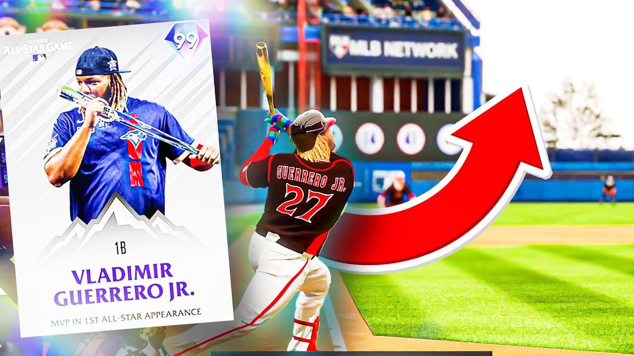 99 VLADIMIR GUERRERO JR IS THE BEST CARD IN THE GAME!