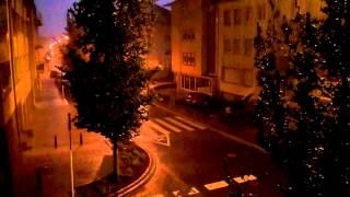 Fort orage à Luxembourg-ville nuit 8-9 août 2014