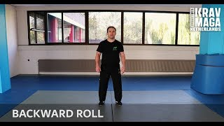 Krav Maga Technique of the Week, Backward Roll with Joe Ambrosino.