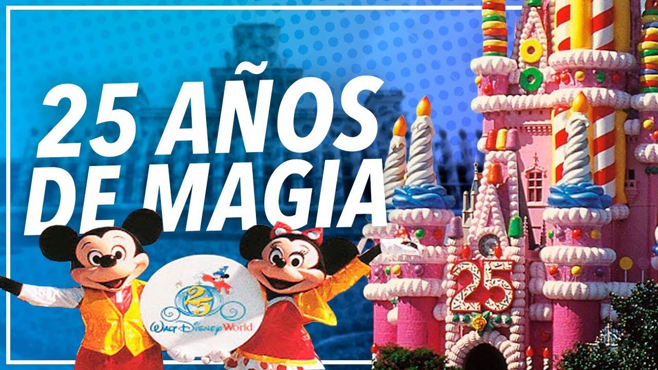 Cómo celebró Disney World su 25 aniversario