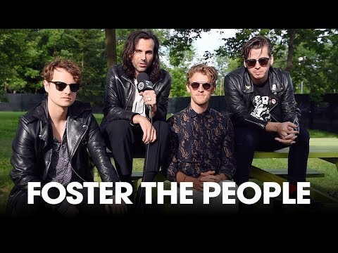 """Foster The People brings everyone together in the """"Sacred Hearts Club"""" - Wayhome 2017 Interview"""
