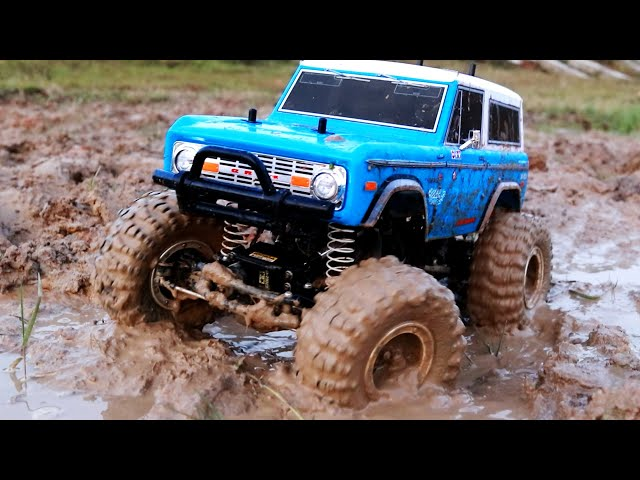 RC Car Mud Off Road Adventure - Bronco 4x4 Drive