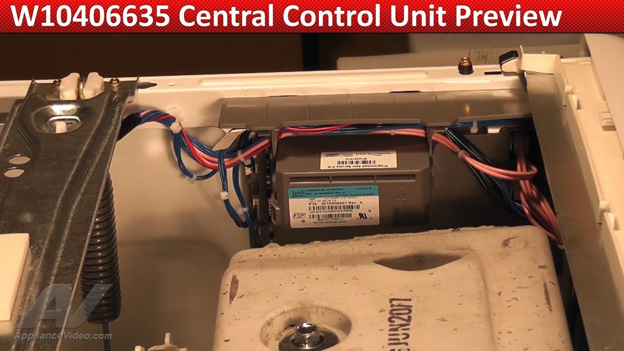 Central Control Unit - Ccu -- Maytag Mhw6000xw Washer