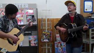 Almighty Do Me A Favor and Todd Congelliere - live at Williams Bookstore, 2/2/2012