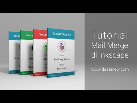 [Tutorial] Mail Merge in Inkscape