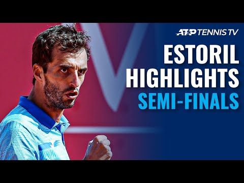 Cilic vs Norrie; Ramos-Vinolas vs Davidovich Fokina | Estoril Open 2021 Semi-Final Highlights