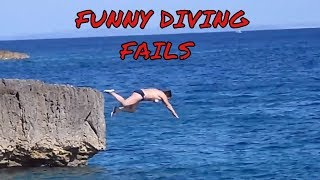 Funny Diving Moments / Fails Compilation