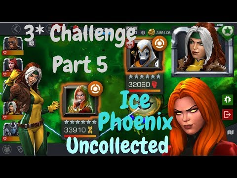 3* Rogue VS Uncollected Ice Phoenix! Part 5 3* Challenge! - Marvel Contest Of Champions