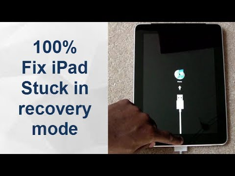 Ipad mini recovery mode