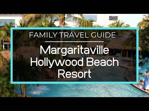 Margaritaville Hollywood Beach Resort - Full Resort Tour, Pools, Restaurants, Spa, Fitness Center