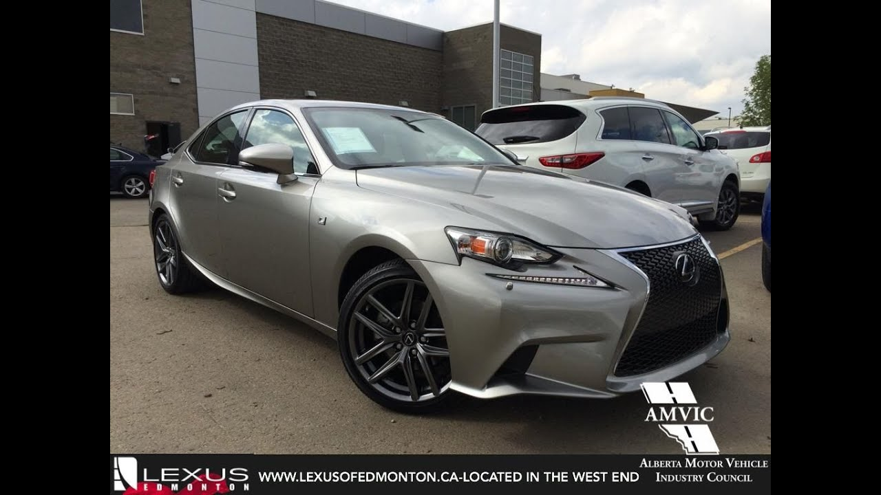 Lexus Certified Pre Owned 2015 Atomic Silver IS 250 AWD F