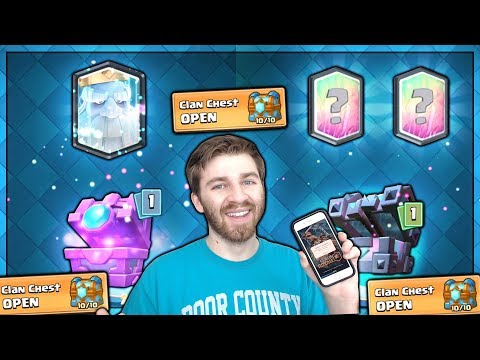 MAX CLAN CHEST, KINGS CHEST & FORTUNE CHEST OPENING! | Clash Royale | ROYAL GHOST HUN!