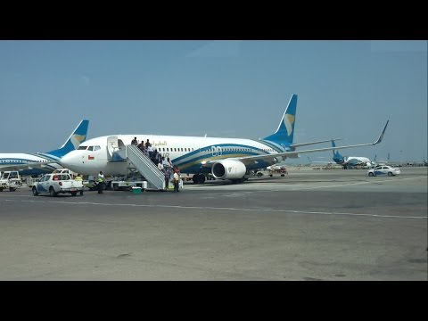 Oman Air B737-900ER Flight Review: Hyderabad to Muscat WY236 [HD]