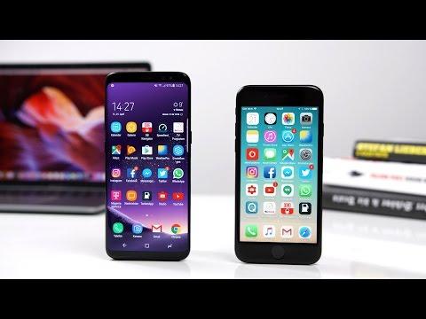 Samsung Galaxy S8 vs. Apple iPhone 7 (Deutsch) | SwagTab