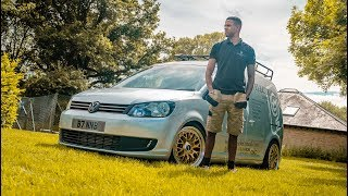 400BHP VW CADDY UK'S FASTEST ELECTRICIAN
