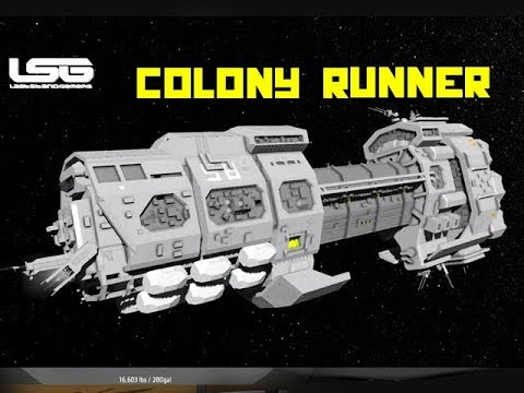 Space Engineers - Orion 9 Colony Runner Drone Carrier
